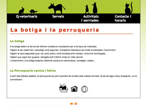 pagina web veterinari